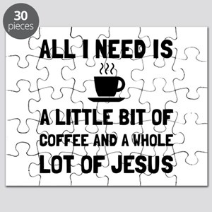 Coffee And Jesus Puzzle