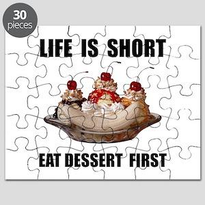 Life Short Dessert Puzzle