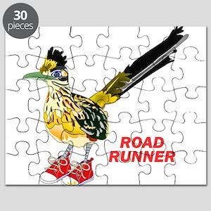 Road Runner in Sneakers Puzzle