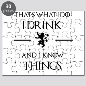 I drink and I know things Puzzle