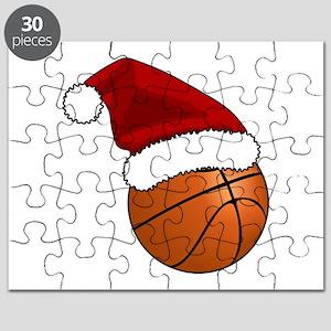 Christmas Basketball Puzzle