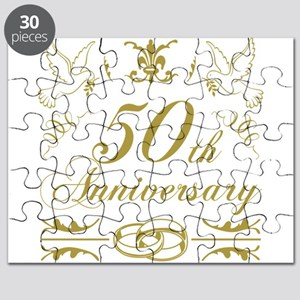 50th Wedding Anniversary Puzzle