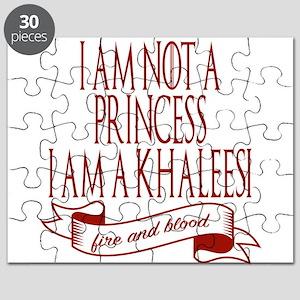 I am not a princess I am a khaleesi Game of Puzzle
