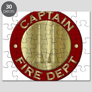 Fire captain emblem bugles Puzzle