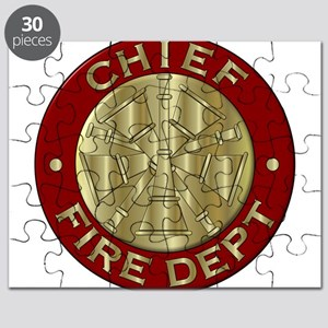 Fire chief brass sybol Puzzle