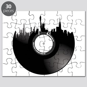 New York City Vinyl Record Puzzle