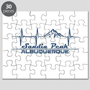 Sandia Peak - Albuquerque - New Mexico Puzzle