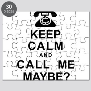 Keep Calm and Call Me Puzzle