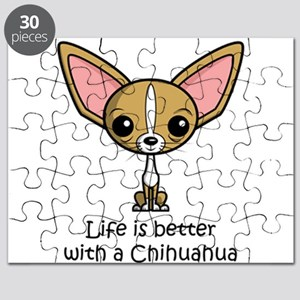 Life is Better with a Chihuahua Puzzle