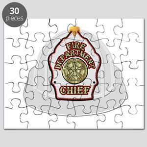 Traditional Fire Department Chief Helmet Puzzle