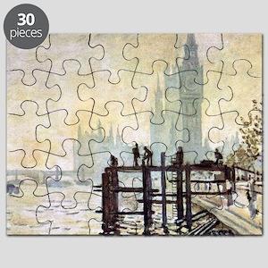 Claude Monet Westminster Bridge Puzzle