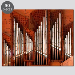 View of right section of organ of Bilbao Ja Puzzle