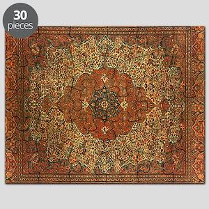 Antique Tabriz Pattern Puzzle