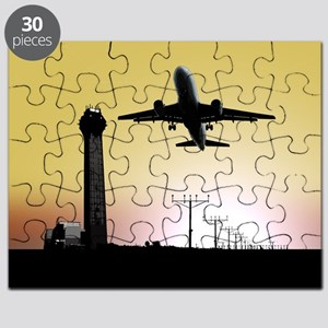 ATC: Air Traffic Control Tower & Plane Puzzle