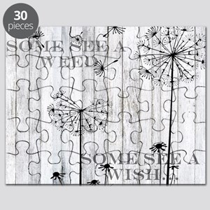 Dandelion Wish Puzzle