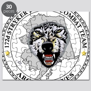 Army-172nd-Stryker-Bde-Arctic-Wolves-Patch- Puzzle