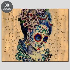 Marie Muertos Cushion cover Puzzle