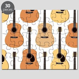 Acoustic Guitars Pattern Puzzle