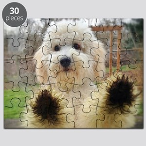 Goldendoodle Puppy Dog Puzzle