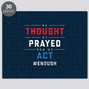 Now We Act #ENOUGH Puzzle