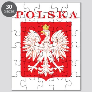 Polska Eagle Red Shield Puzzle