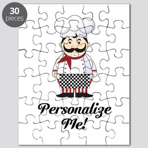 Personalized French Chef Puzzle