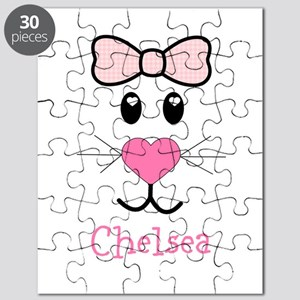 Bunny face customized Puzzle