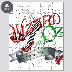 75th Anniversary Wizard of Oz Red Shoes Puzzle