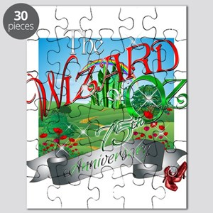 75th Anniversary Wizard of Oz Movie Poppies Puzzle