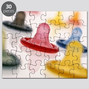 Rolled-up condoms Puzzle