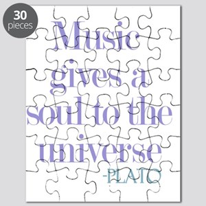 Music gives soul Puzzle