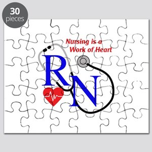 WORK OF HEART Puzzle