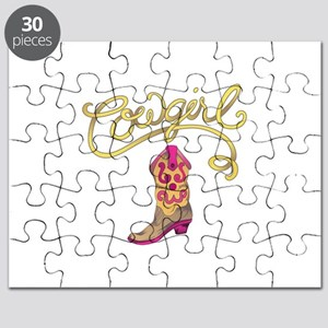 COWGIRL BOOT Puzzle