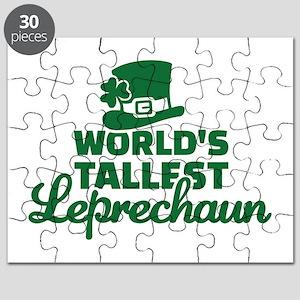 World's tallest Leprechaun Puzzle