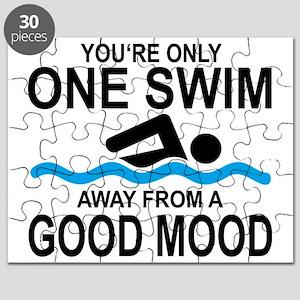schwimmen Puzzle