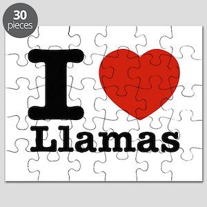 I Love Liamas Puzzle