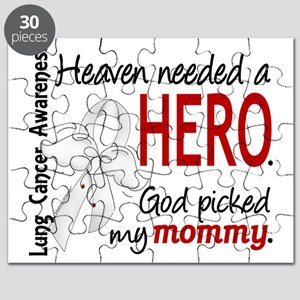 D Heaven Needed a Hero Mommy Lung Cancer Puzzle