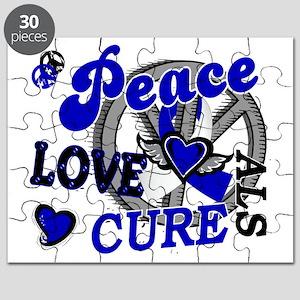 D ALS Peace Love Cure 2 Puzzle