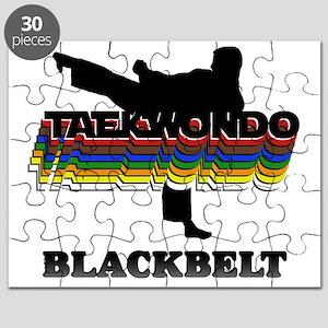 TKD-BlackBelt-Colors Puzzle