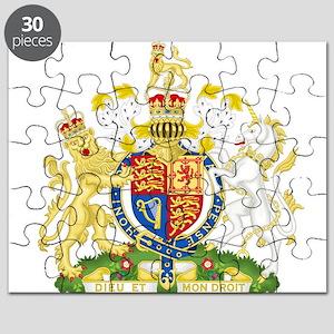 Royal COA of UK Puzzle