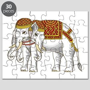 Thai Erawan White Elephant Puzzle
