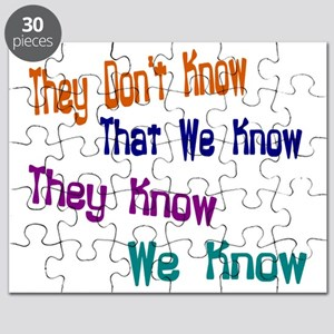 They Don't Know We Know Puzzle
