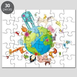 Animal Planet Puzzle