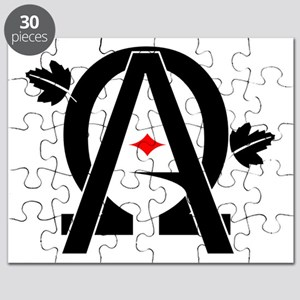 Alpha And Omega Combined Puzzle