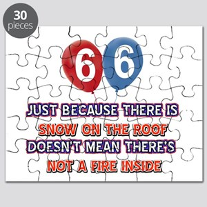 66 year old designs Puzzle