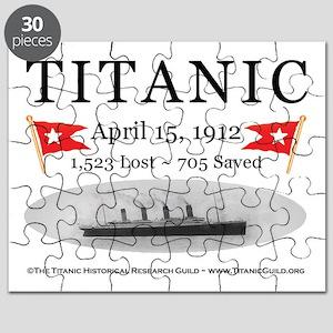 Titanic Ghost Ship (white) Puzzle