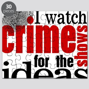 Crime Show Ideas Puzzle