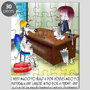 6167_dog_cartoon Puzzle