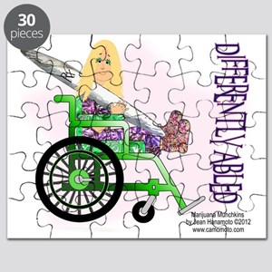 Marijuana Munchkins Differently Abled Puzzle