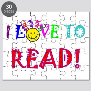 Love to Read Puzzle